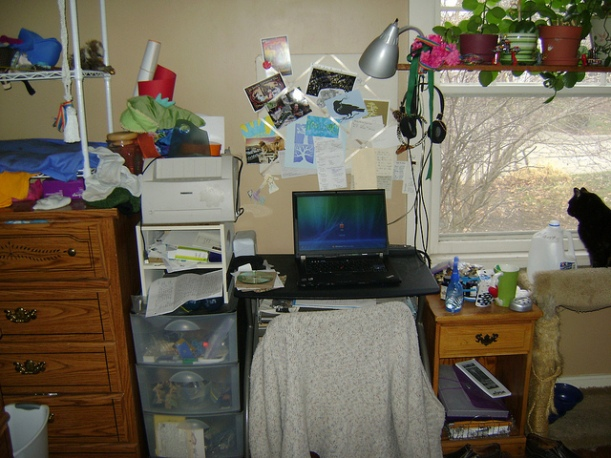 Bedroom Workspace. Go to Flickr  to view annotations.