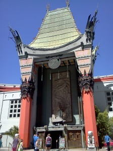 Grauman's Chinese Theater, down the block from the hotel