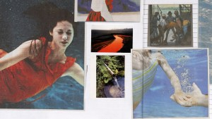 Margo Lanagan's  Sea Hearts  scrapbook