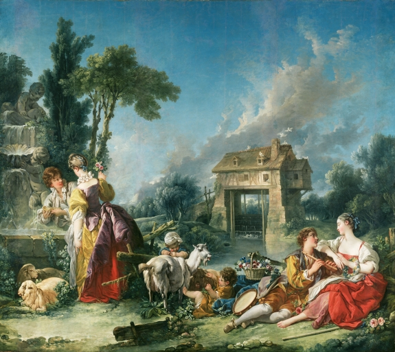 The Fountain of Love, by François Boucher [1748]